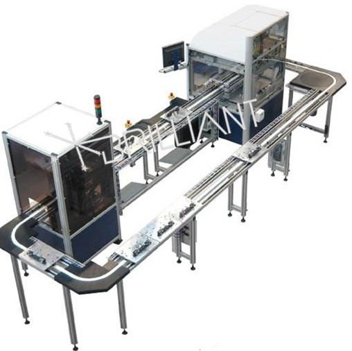 Automatic line production line of network filter