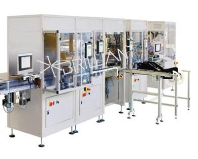 Optical module automation laser welding